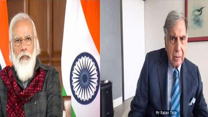 Assocham Meeting PM Modi Ratan Tata- India TV Paisa