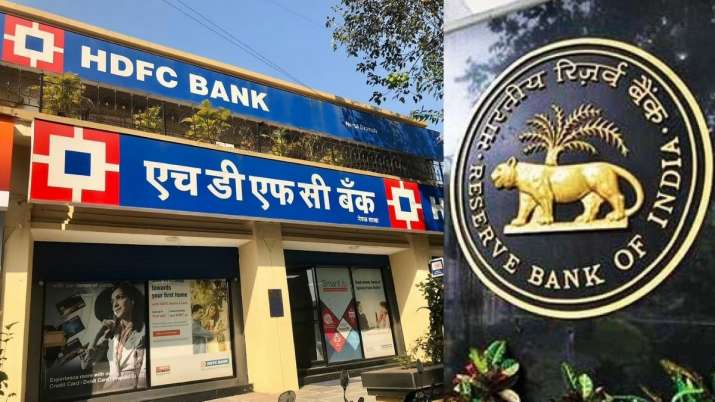 RBI fines HDFC Bank of 10 lakhs rupees for not maintaining in SGL- India TV Paisa