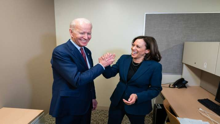US President Joe Biden and Vice president Kamala Harris- India TV Paisa