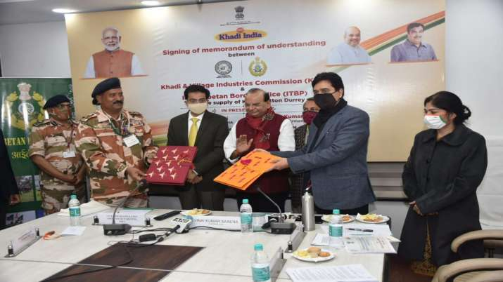 ITBP orders over Rs 8-cr worth of khadi mats from KVIC for CAPFs- India TV Paisa