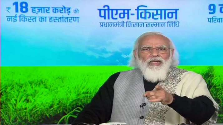 How to link aadhaar card number with PM Kisan Samman Nidhi Yojana account online process step by ste- India TV Paisa