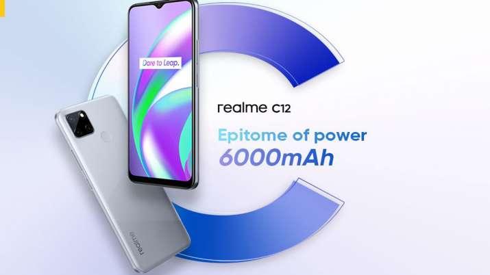 Realme C12 smartphone's 4GB RAM variant now in India- India TV Paisa