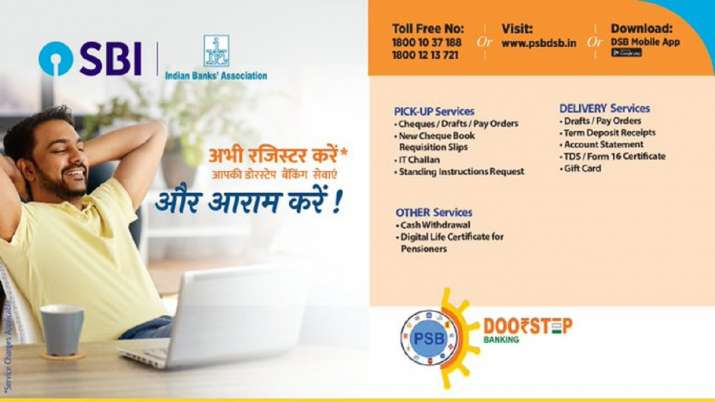 SBI doorstep banking dsb services Cash Withdrawal check full detail - India TV Paisa