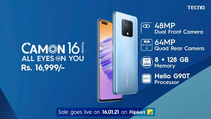 TECNO launches new smartphone with 48MP dual selfie camera in India- India TV Paisa