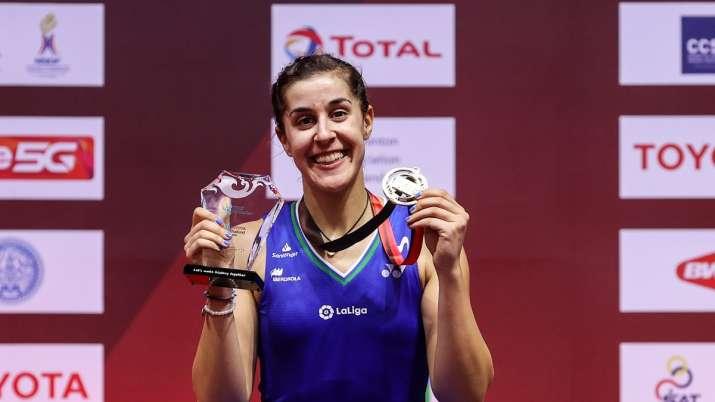 Carolina Marin, Viktor Axelson win singles titles at Thailand Open -  कैरोलिना मारिन और विक्टर एक्सेलसन ने जीता थाईलैंड ओपन का खिताब - India TV  Hindi News