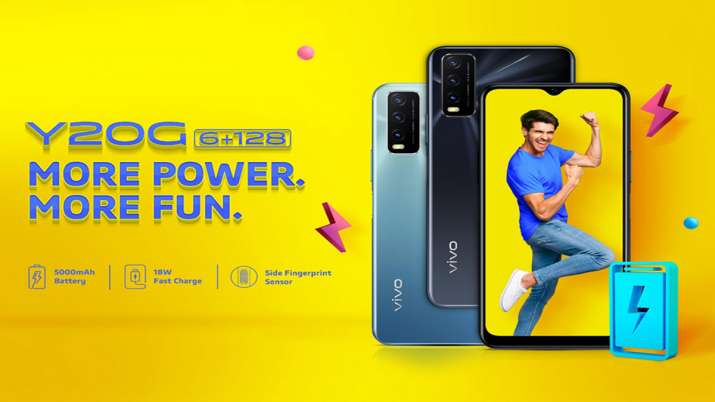Vivo Y20G with Helio G80 Soc, 5000mAh battery launched- India TV Paisa