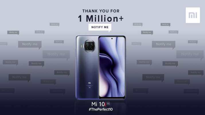 108MP camera Mi10i crossed Rs 200 Crore mark in the first sale- India TV Paisa