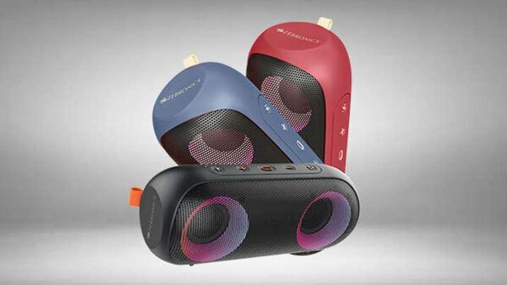 Zebronics launches powerful speaker Zeb-Music Bomb X with IPX7 rating- India TV Paisa