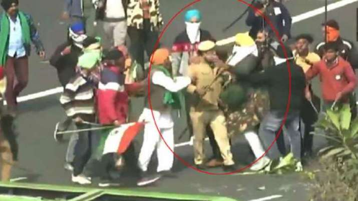 tractor rally, tractor march, Republic day violence, red fort violence, kisan andolan, farmers prote