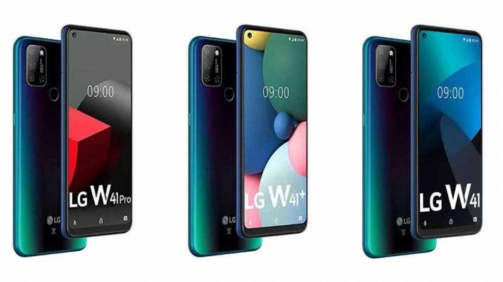 LG launches W41 series smartphones in India - India TV Paisa