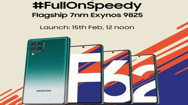 Samsung Galaxy F62 with Exynos 9825 chip in India on Feb 15- India TV Paisa