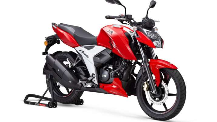 TVS Motor Launches new Apache RTR 160 4V in India- India TV Paisa