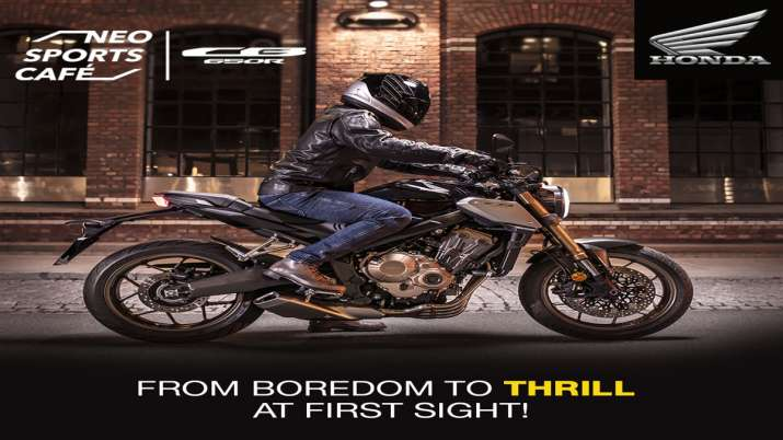 Honda ने भारत में प्रीमियम बाइक CB650R की पेशकश की- India TV Paisa