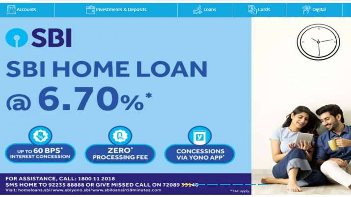 State Bank Of India Reduces Home Loan Interest Rate To 6.7percent- India TV Paisa