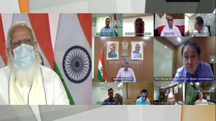 ऑक्सीजन की किल्लत पर...- India TV Paisa