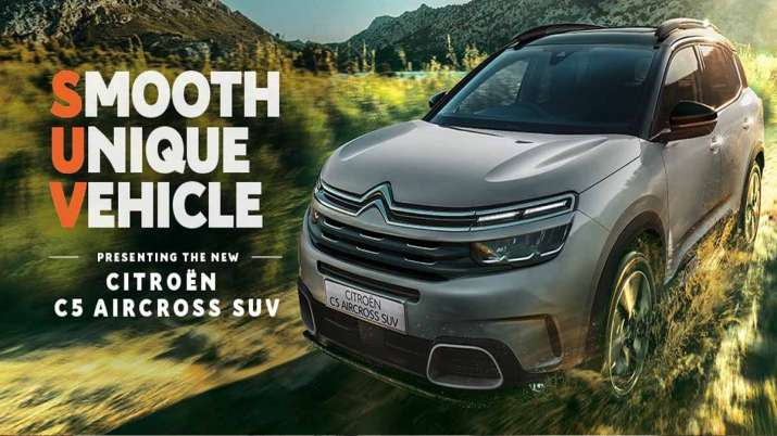 Citroen C5 Aircross SUV launched in India, 1,000 unit has been booked so far- India TV Paisa
