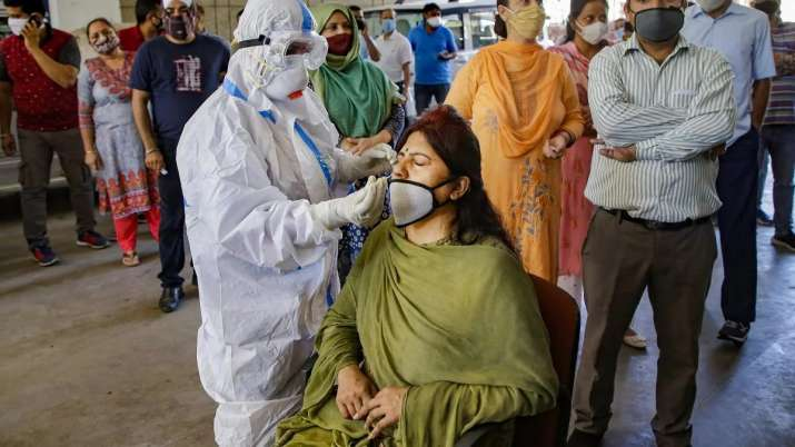 जम्मू कश्मीर में सामने आए कोरोना वायरस के 517 नये मामले, 5 और लोगों की मौत