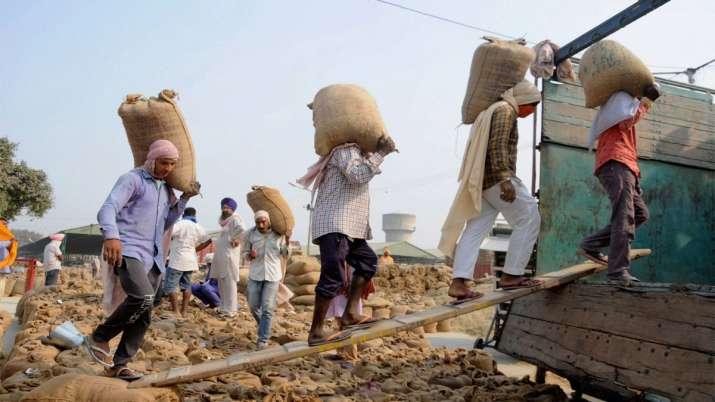 गोदामों में रखी उपज...- India TV Paisa