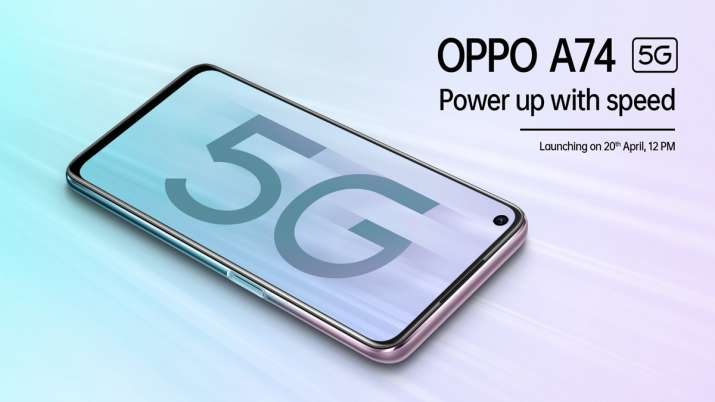 OPPO to launch 5G phone A74 in India under 20k on April 20- India TV Paisa