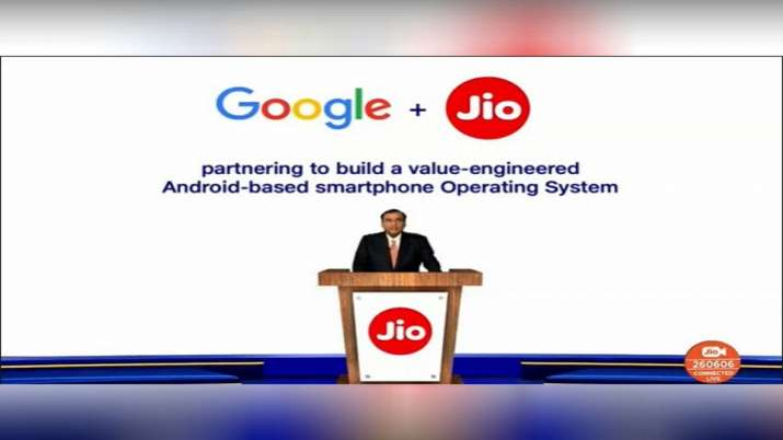 Jio and google Working closely to build affordable smartphone- India TV Paisa