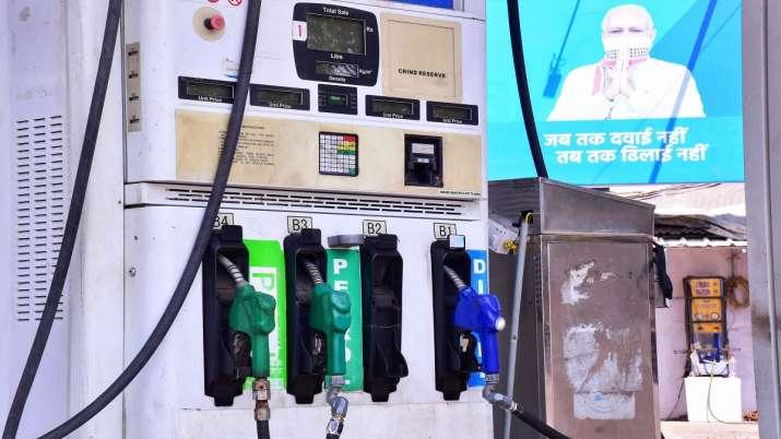 Petrol Diesel Prices in Delhi Mumbai latest news Petrol Diesel Prices: इस महीने 12वीं बार बढ़े दाम, - India TV Paisa