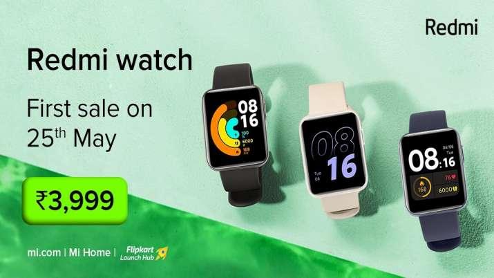 रेडमी नोट 10-एस के साथ ही भारत में लॉन्च हुई नई स्मार्टवॉच- India TV Paisa