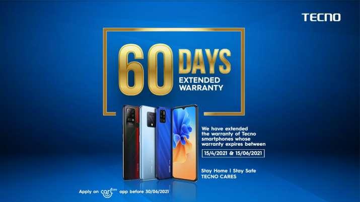 TECNO ने अपने स्मार्टफोन के लिए 60 दिनों की वारंटी विस्तार नीति की घोषणा की- India TV Paisa