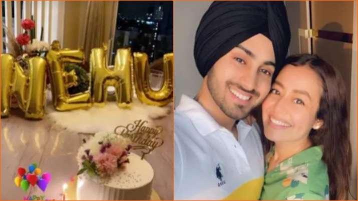नेहा कक्कड़ के जन्मदिन पर पति रोहनप्रीत ने बरसाया प्यार, सिंगर के लिए लिखा रोमांटिक नोट Neha Kakkar's husband Rohanpreet penned a romantic note for her
