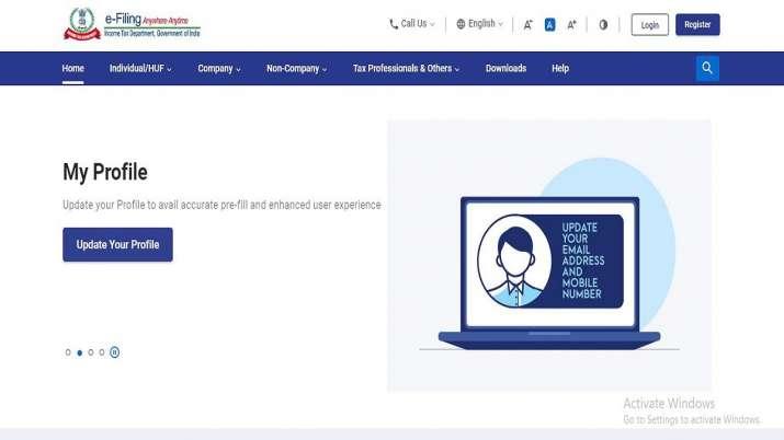 आयकर विभाग की नई ई-फाइलिंग वेबसाइट जारी, कई तरह की नई सुविधाएं शामिल- India TV Paisa