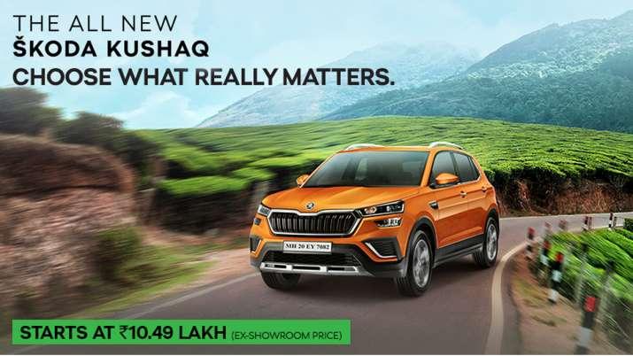 Skoda drives in Kushaq at Rs 10.5 lakh in India- India TV Paisa