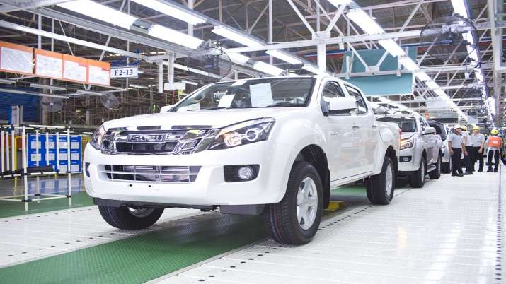 SML Isuzu temporarily suspends production at manufacturing plant in Punjab till June 11- India TV Paisa