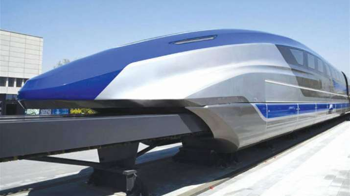 The world's fastest maglev train started in China, the speed is 600 kilometers per hour
