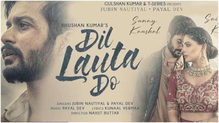 Jubin Nautiyal, Payal Dev Dil Lauta Do song launch, Saiyami Kher-Sunny Kaushal are seen जुबिन नौटियाल, पायल देव का 'दिल लौटा दो' गाना लॉन्च, सैयामी खेर-सनी कौशल आ रहे हैं नजर