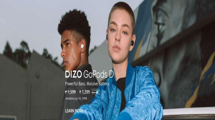 DIZO ने भारत में GoPods D, वायरलेस इयरफोन का अनावरण किया- India TV Paisa