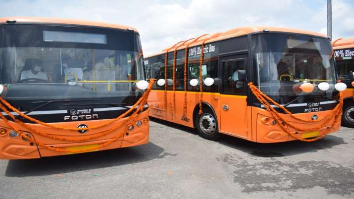 700 electric buses to run in 14 cities of uttar pradesh inculding ghaziabad lucknow meerut kanpur ag- India TV Paisa