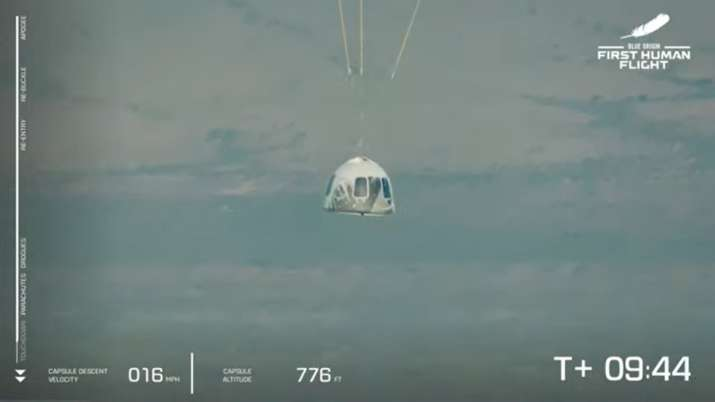 VIDEO: Jeff Bezos succeeded in returning after touching space, created new history