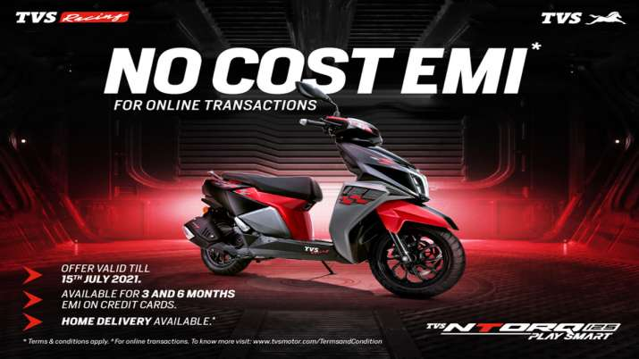 TVS ने 125 CC का स्कूटर NTORQ Race XP पेश किया, कीमत 83,275 रुपए- India TV Paisa