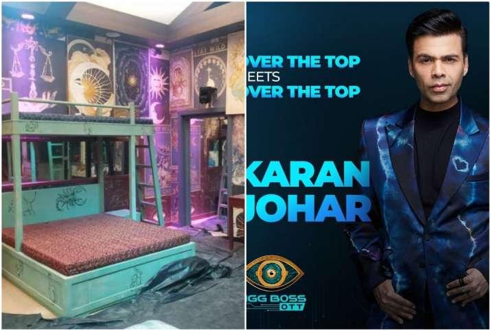 Bigg Boss OTT house first photos leaked take a look of bedroom of Karan Johar show-Bigg Boss OTT के घर के अंदर की तस्वीरें हुईं लीक, देखिए क्या है इस बार खास