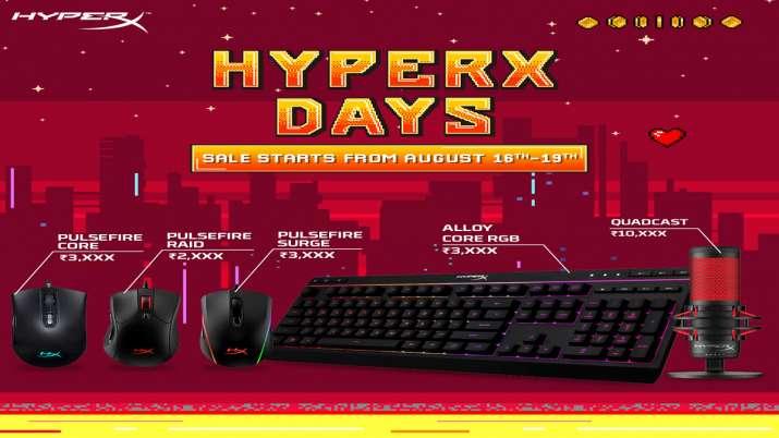 Amazon पर HyperX days sale, गेमिंग प्रोडेक्ट 51 फीसदी सस्ते में खरीदने का मौका- India TV Paisa