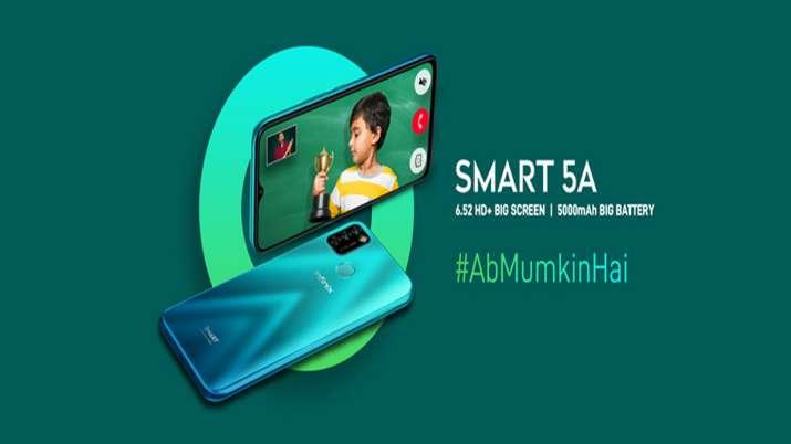 Infinix ने Jio के साथ मिलकर लॉन्च किया बेहद सस्ता Infinix Smart 5A स्मार्टफोन, देखें कीमत और स्पेसिफ- India TV Paisa