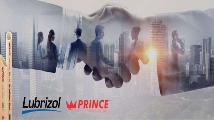 Lubrizol announces partnership with Prince Pipes and Fittings- India TV Paisa