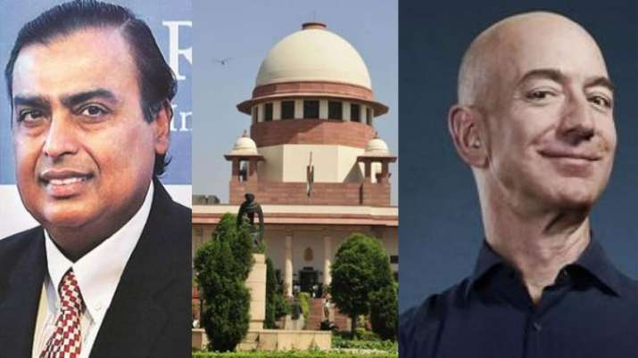 Supreme Court ruled in favour of Amazon in tussle with Future Retail- India TV Paisa
