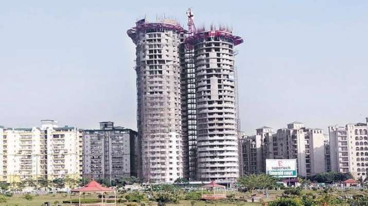 Supertech to file review petition against SC order to demolish twin towers in Noida- India TV Paisa