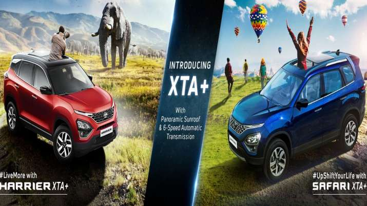 Tata Motors launches new trims of Harrier and Safari, know about new features and price - India TV Paisa