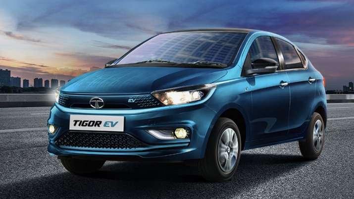 Tata Motors launches Tigor EV with price Rs 12 lakh- India TV Paisa