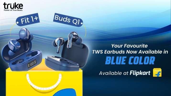 Truke ने ब्लू कलर में TWS बड्स Q1 और Fit 1+ के नए कलर वेरिएंट लॉन्च किए- India TV Paisa