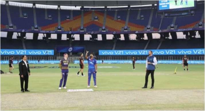 KKR vs DC, IPL 2021 TOSS : मॉर्गन या पंत किसकी तरफ उछलेगा टॉस का सिक्का, जानें सीजन-14 में कौन किससे है आगे?