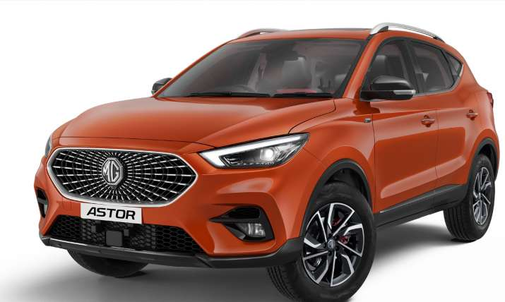 MG Motor unveils Astor enters highly competitive mid-size SUV segment- India TV Paisa
