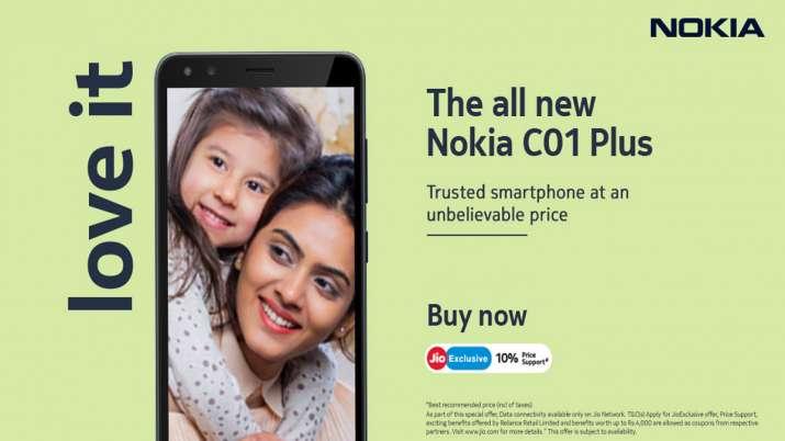 Nokia ने भारत में मिड रेज स्मार्टफोन C01 Plus किया लॉन्च, देखें कीमत और फीचर्स- India TV Paisa