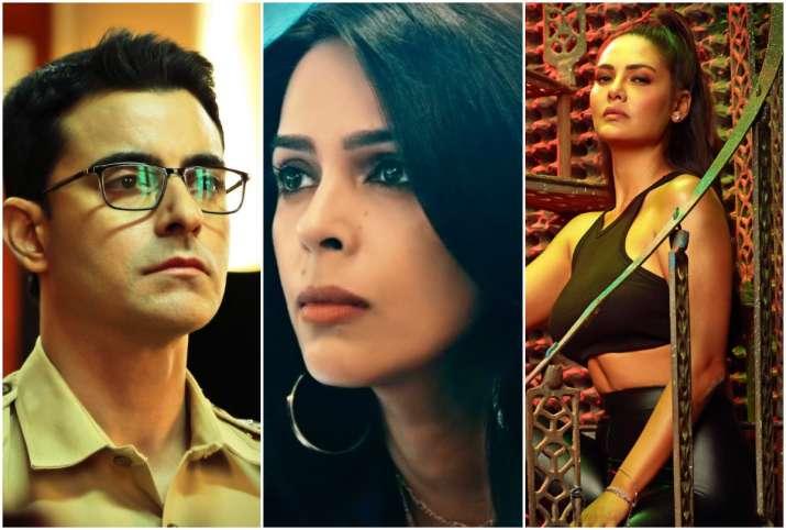 Thirller Web Series Nakaab Trailer Out Mallika Sherawat Esha Gupta Gautam  Rode In Lead Role
